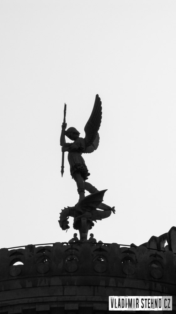 Anděl s kopím, Lyon (Francie), 13.03.2014