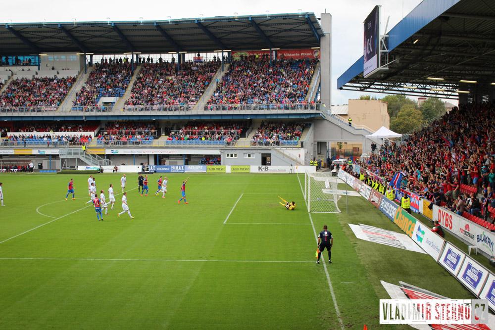 FC VIKTORIA PLZEŇ - FC BANÍK OSTRAVA (2:0) 21.09.2014