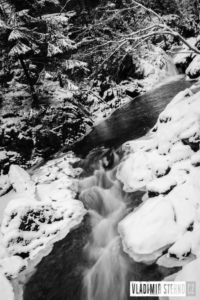 Zimní Údolí Doubravy, 30.12.2014